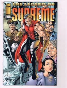 The Legend Of The Supreme #1 VF Image Comics Comic Book December DE11