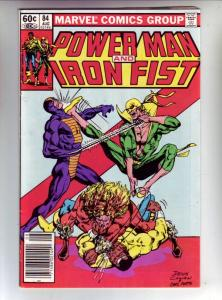 Power Man and Iron Fist #84 (Aug-82) VF/NM High-Grade Luke Cage, Iron Fist