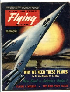 Royal Air Force Flying Review August 1958- WH Kyle