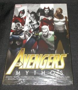 Avengers Mythos Hardcover Graphic Novel (Marvel) - New/Sealed!