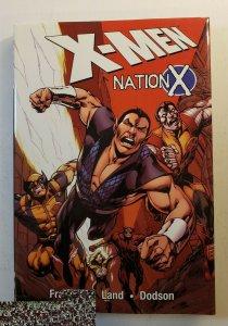 X-MEN NATION X HARD COVER GRAPHIC NOVEL NM