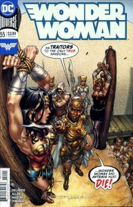 Wonder Woman (5th Series) #55 VF; DC   save on shipping - details inside