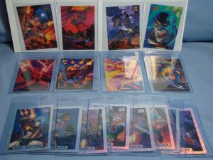 16 1994 MARVEL MASTERPIECE Insert/Parallel Comic Art Cards Gold Foil & HOLOBLAST