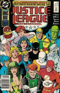 Justice League International #24 VF/NM; DC | save on shipping - details inside