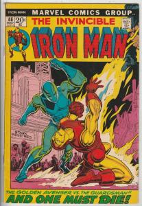 Iron Man #46 (May-72) FN Mid-Grade Iron Man