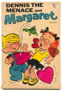 Dennis The Menace and Margaret #1 1969- comic G