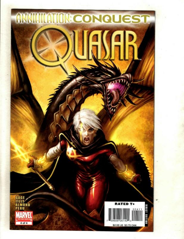 Lot Of 8 Marvel Comics Star-Lord # 1 2 3 4 + Quasar #1 2 3 4 Annihilation NM SM8