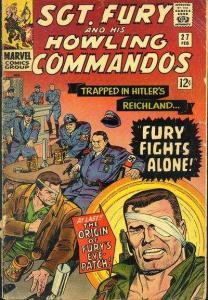Sgt. Fury #27, Good- (Stock photo)