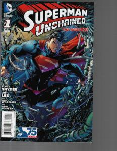 Superman Unchained #1 (DC, 2013)  Variant NM