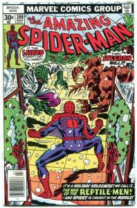 Amazing Spider-Man #166 1977- Lizard - Stegron- Marvel Comics NM-