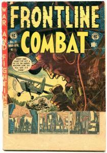 Frontline Combat #11 1953- EC Comics- Davis- Severin- reading copy
