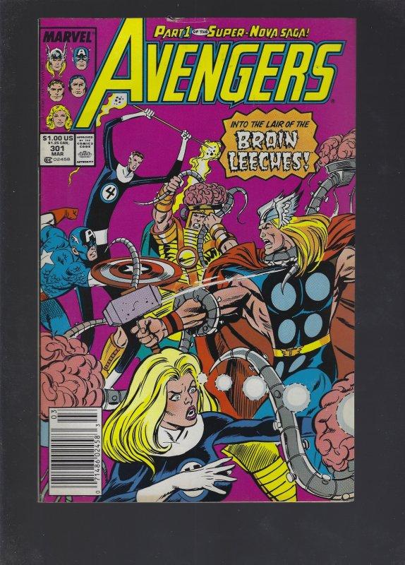 The Avengers #301 (1989)