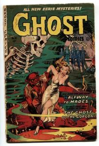 Ghost #10 1954 Fiction House-monster attack-Dr Drew.-pre-code horror comic G