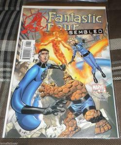 FANTASTIC FOUR #517   2004 marvel  avengers disassemnled