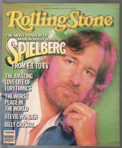 Rolling stone 10/24/1985-Steven Spielberg-Billy Crystal-Stevie Wonder-FN