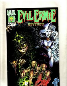 Lot of 9 Comics Evil Ernie Revenge 1 2 3 4 VS. The Super Heroes 1 2 +MORE HY7