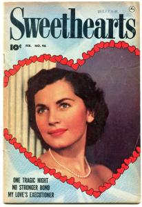 Sweethearts #96 1951- Golden Age Romance- My Loves Executioner FN