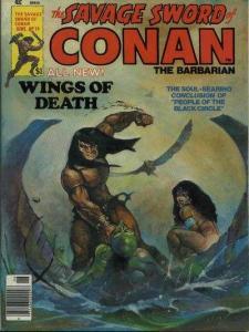 Savage Sword of Conan (1974 series) #19, VF+ (Stock photo)