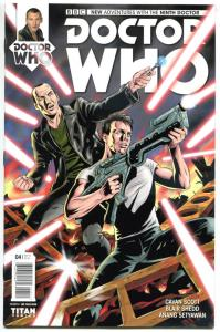 DOCTOR WHO #4 A, NM, 9th, Tardis, 2015, Titan, 1st, more DW in store, Sci-fi