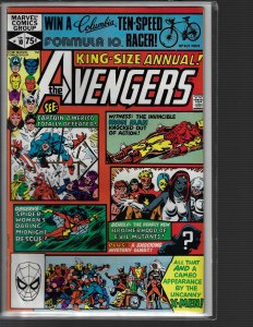 Avengers King-Size Annual #10 (Marvel, 1981) NM- KEY 1st Rogue