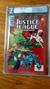 Justice League America #69 (DC, 1992) PGX 9.2