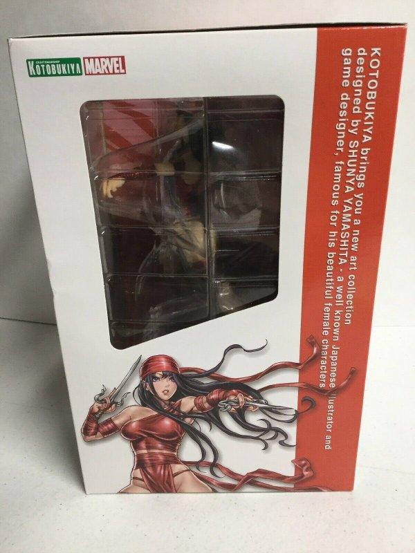 Elektra Marvel Bishoujo Statue Kotobukiya Craftmanship Marvel