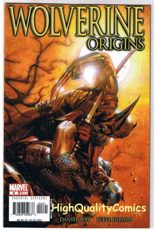 WOLVERINE : ORIGINS #4, NM, Dan Way, Captain America, 2006, more in store