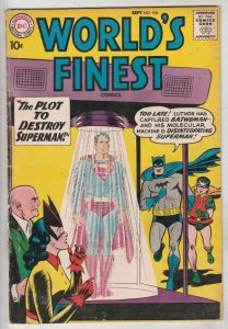 World's Finest #104 (Sep-59) FN+ Mid-High-Grade Superman, Batman, Robin