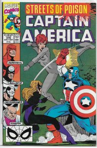 Captain America   vol. 1   #376 FN (Streets of Poison 5)