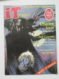 It Magazine and Comics Issue 1 Sept. 1994 Charles Vess Neil Gaiman Matt Wagner