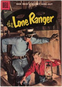 Lone Ranger, The #104 (Feb-57) VF+ High-Grade The Lone Ranger, Tonto, Silver
