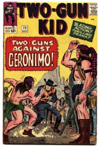 TWO-GUN KID  #72-1964-MARVEL-GERONIMO-JACK  KIRBY COVER-fn