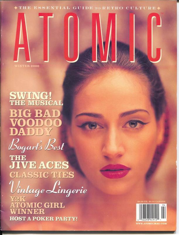 Atomic-The Magazine of Retro Culture-Winter 2000-Bogie-culture-music-FN/VF