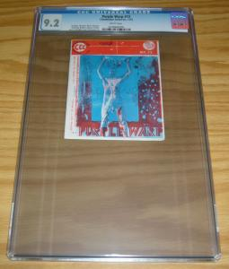 Purple Warp #12 CGC 9.2 tiny print run - high grade underground comix 1973