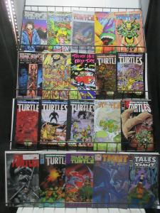 Teenage Mutant Ninja Turtles Mini-Library Lot of 20Diff, Mostly Original Series