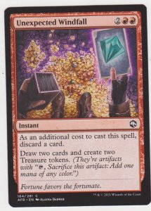 Magic the Gathering: Adventures in the Forgotten Realms- Unexpected Windfall
