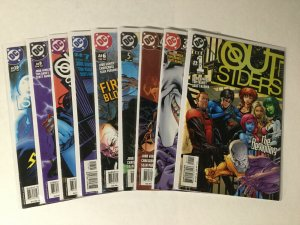 Outsiders 1 2 3 4 5 6 7 8 9 10 11 12 13-50 Complete Lot Set Run Nm Near Mint Dc