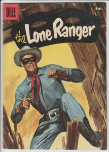 Lone Ranger, The #96 (Jun-56) VF+ High-Grade The Lone Ranger, Tonto, Silver