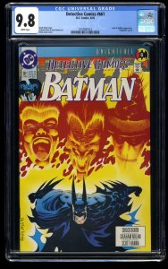 Detective Comics #661 CGC NM/M 9.8 White Pages Knightfall Part 6!