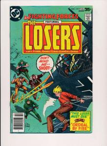 Our Fighting Forces, Featuring the LOSERS #177 ~ DC Comics 1978 ~ FN (HX451)