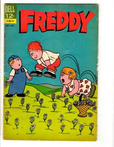 Freddy # 3 VG/FN Dell Silver Age Comic Book 1964 Cartoon Kid JL10