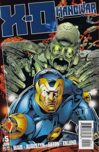 X-O Manowar (Vol. 2) #5 VF/NM; Acclaim | save on shipping - details inside