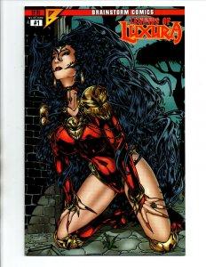 Legends of Luxura #1 - Vamperotica - sexy vampire girl - Brainstorm - NM