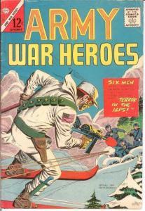 ARMY WAR HEROES (1963-1970 CH) 10 G-VG  September 1965 COMICS BOOK
