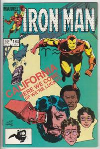 Iron Man #184 (Jul-85) VF/NM- High-Grade Iron Man