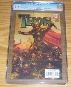 Thor #1 CGC 9.6 arthur suydam retailer incentive variant  j. michael straczynski