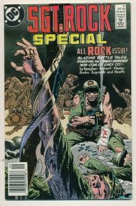 DC Comics SGT. ROCK SPECIAL #5 1989 ~  VF/NM (PF563) Newsstand Edition