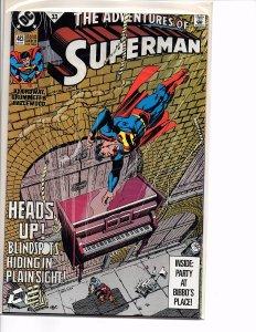 Dc Comics Adventures of Superman #483 and 572