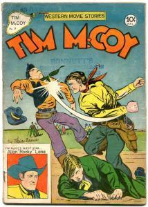 Tim McCoy #17 1948- Charlton Western- Phantom Ranger VG
