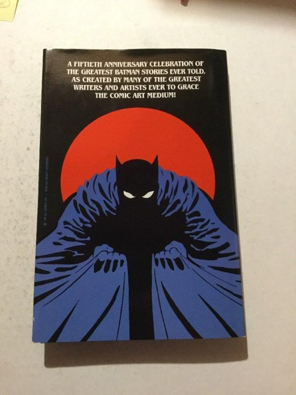 Batman The Greatest Stories Ever Told 1 TPB 1st Print HC